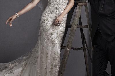 Collezione Sottero & Midgley Primavera 2015: elegante glamour