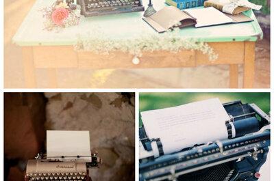 Pięć elementów ślubnych dekoracji, których nie może zabraknąć na weselu vintage
