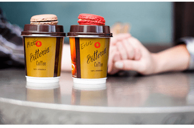 Un'idea originale per il servizio (pre)matrimoniale, perfetta per gli amanti del caffé