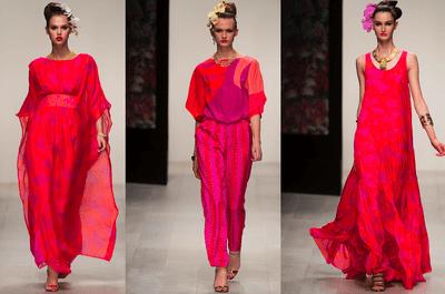 Tendencias en vestidos de fiesta Issa 2013