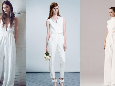 Jumpsuits para novia: ¡No hay nada más cool!