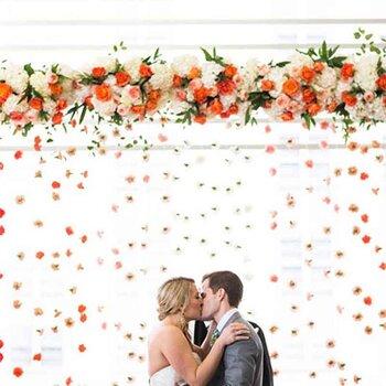 Jardines verticales para bodas. ¡Una tendencia en decoración que está arrasando!