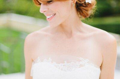 Coiffures pour les mariées à frange : trouvez celle qui vous ira le mieux !