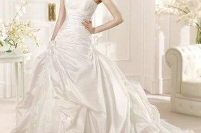 El vestido perfecto: Nuevas tendencias para las novias de 2013