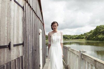 Los románticos vestidos de novia de Lambert Créations 2015