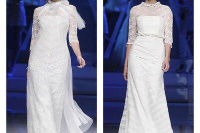 Brautkleider Kollektion 2013 von Yolan Cris: Brautmode mit Liebe zum Detail