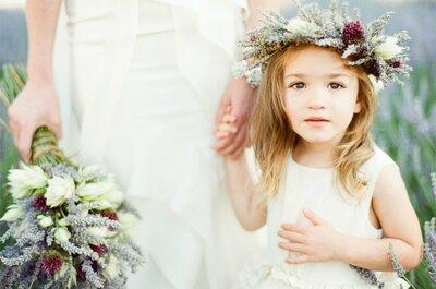 A magia e beleza de uma noiva-fada em um casamento num jardim secreto