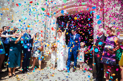 Margaux et Luis : un mariage mexicain, une piñata et un photobooth coloré !
