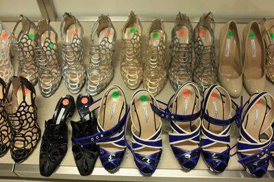 Selección de los mejores zapatos de novias 2013