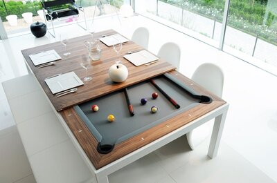 Come arredare la vostra casa: non chiamateli semplicemente tavoli