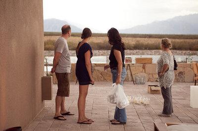 Bodas de parejas extranjeras: Comienzo y final feliz