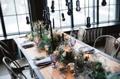 Свадьба в индустриальном (промышленном) стиле:  узнайте пошагово как организовать