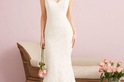 Suknie ślubne Allure Bridals 2015: elegancja i glamour