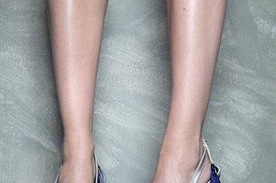 Sapatos de festa com plumas, de Vicente Rey 2013