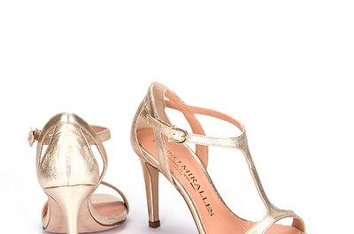 Zapatos de novia 2017. ¡Variados estilos que no te puedes perder!