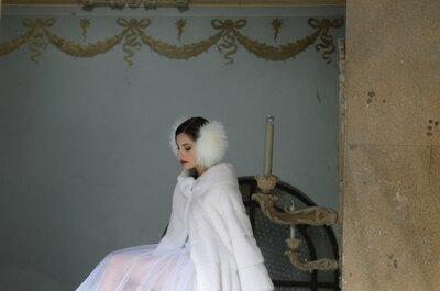 85 abiti da sposa invernali per il 2015: il freddo si fa glamour!