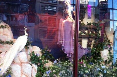 Vestido de novia inspirado en Rapunzel