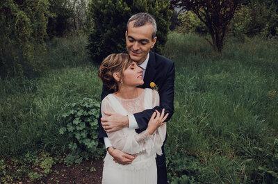 Felicidad, diversión y complicidad: la boda de Sara y Carles