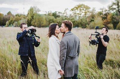 Видео с вашей свадьбы: уникальное, эмоциональное и на все времена!