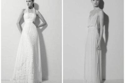 8 vestidos de noiva com decote frente única