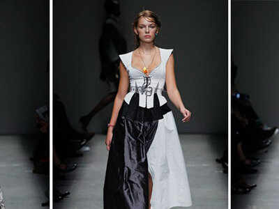 Vivienne Westwood Red Label Spring/Summer Ready to Wear 2016 London Fashion Week Catwalk