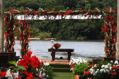Decoração de casamento com vermelho: a cor da paixão para celebrar o amor!