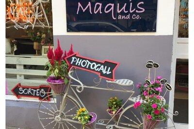 Visita el Meeting Point de Maquis & Co. y encuentra todo para tu boda