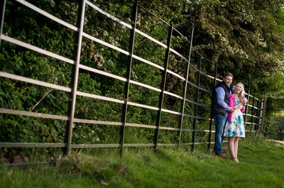 An afternoon in Richmond Park with Rosie and David for their engagement shoot
