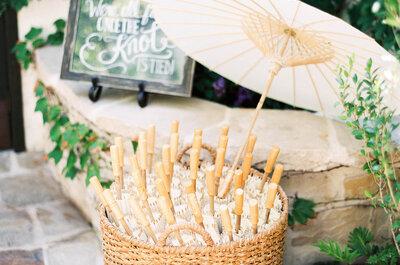 15 ideas súper ingeniosas para una boda al aire libre: Sorprenderás a tus invitados