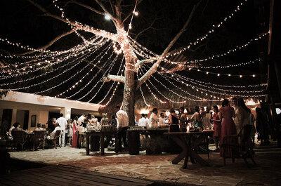 4 formas de celebrar tu boda de manera distinta. ¡Arriésgate y rompe las reglas!