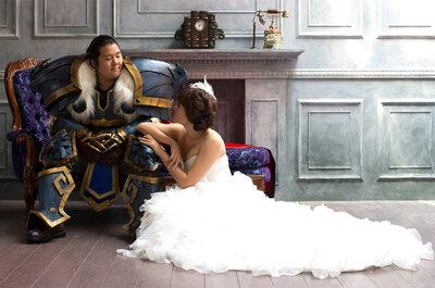 Sesión de fotos de pre boda inspirada en