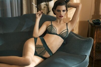Sexy, vintage-style lingerie for your wedding day or night!