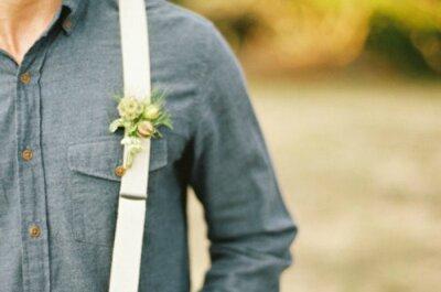 Le bretelle, un tocco British per il perfetto sposo 'gentleman'