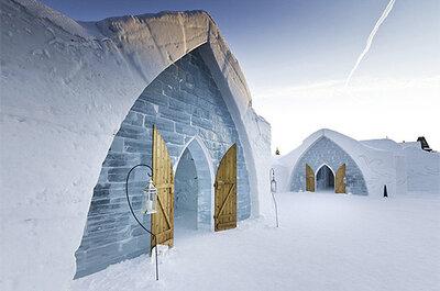 Bodas bajo cero: Cásate en una iglesia de hielo