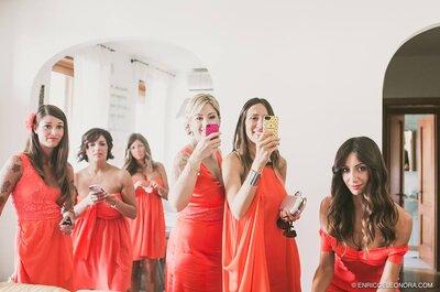 Come essere l'invitata di nozze più fotografata? Segui i consigli degli esperti