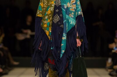 Burberry otoño 2015: Inspiraciones étnicas chic en tu look de fiesta