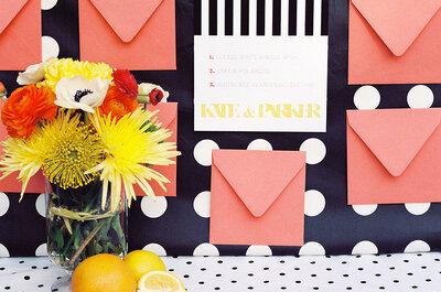 Decoración al estilo old school: Polka Dots para una boda con estilo sin igual