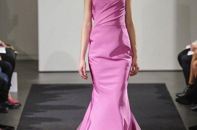 Amor en rosa: Los vestidos de novia Vera Wang que nos hicieron soñar
