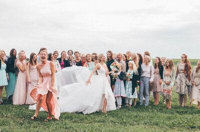 Der Tag, an dem man merkt, dass die Familie für die eigene Hochzeit zu groß ist