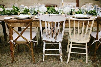 Elementos que no pueden faltar en una boda rústica para el 2016