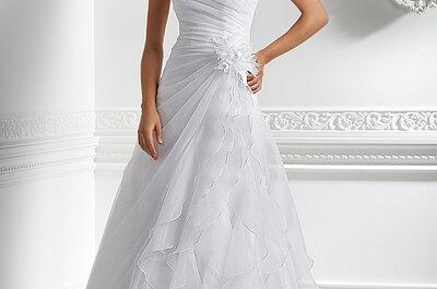 Suknie ślubne Emmi Mariage 2013, kolekcja Exclusive.