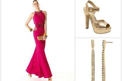 Looks completos para convidadas e madrinhas com vestidos Pronovias 2014