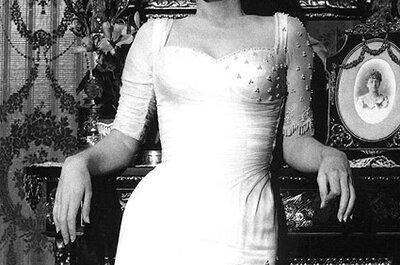 Historia del traje de novia: La silueta a lo Marilyn Monroe