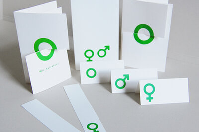 Kreative Drucksachen für Ihre Hochzeit – von Kettcards.de