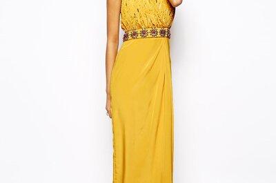 Długie suknie na wesele ze sklepu Asos