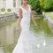 Suknia ślubna z kolekcji Cymbeline 2014.Model: HISTOIRE