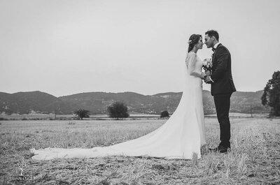 Un amor forjado poco a poco: la boda de Yeru y Mariano