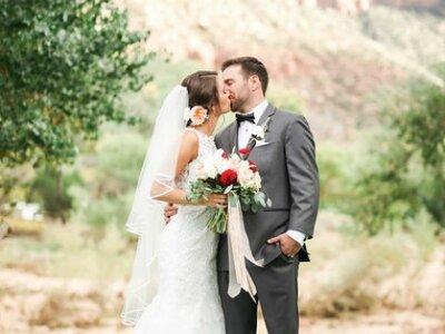 Kelly + John's Wedding Adventure in Zion National Park