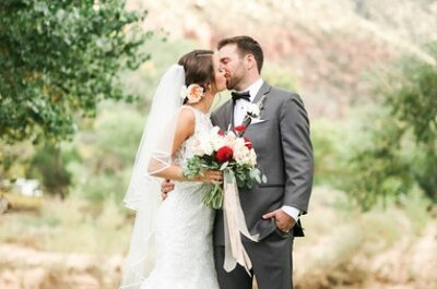 Kelly + John's Wedding Adventure in Zion National Park