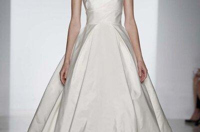 Vestidos de novia Amsale Primavera 2014: saliéndose de la norma